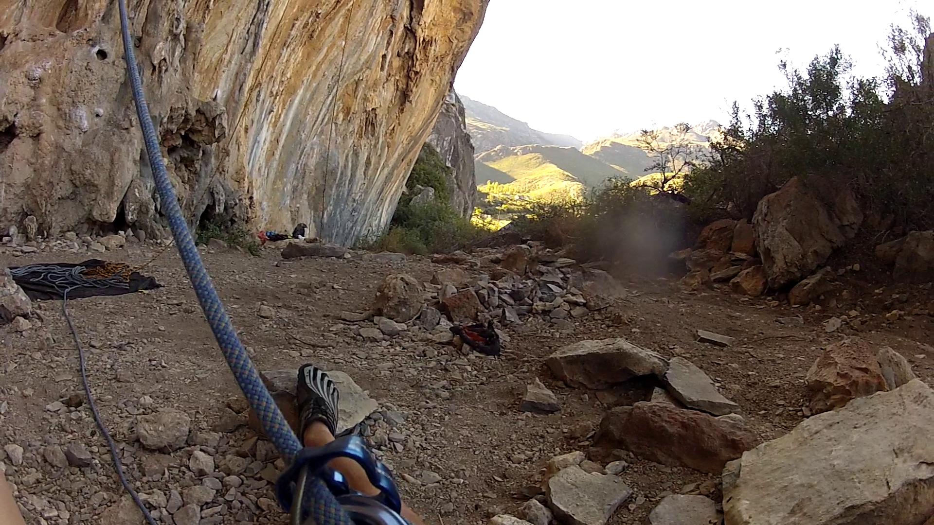 Vibram rockclimbing