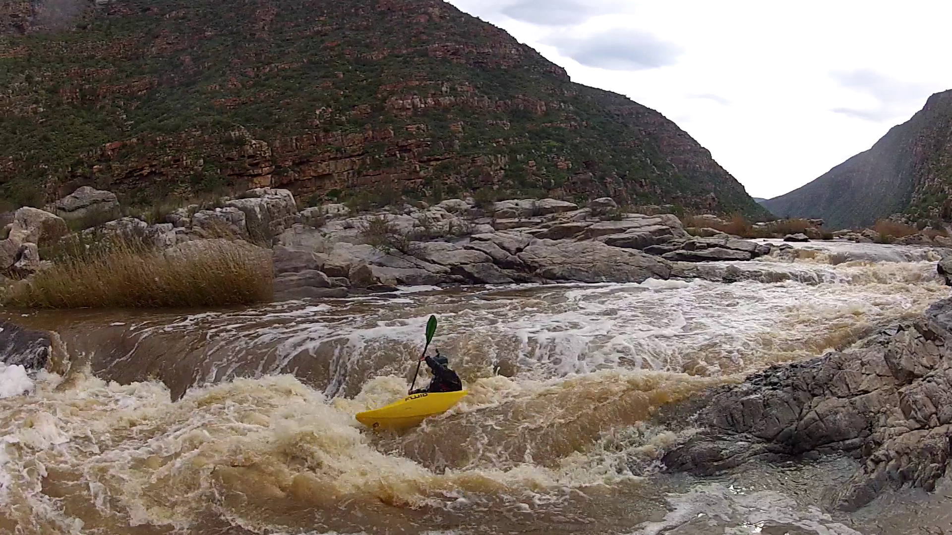 Whitewater kayaking Garden Route