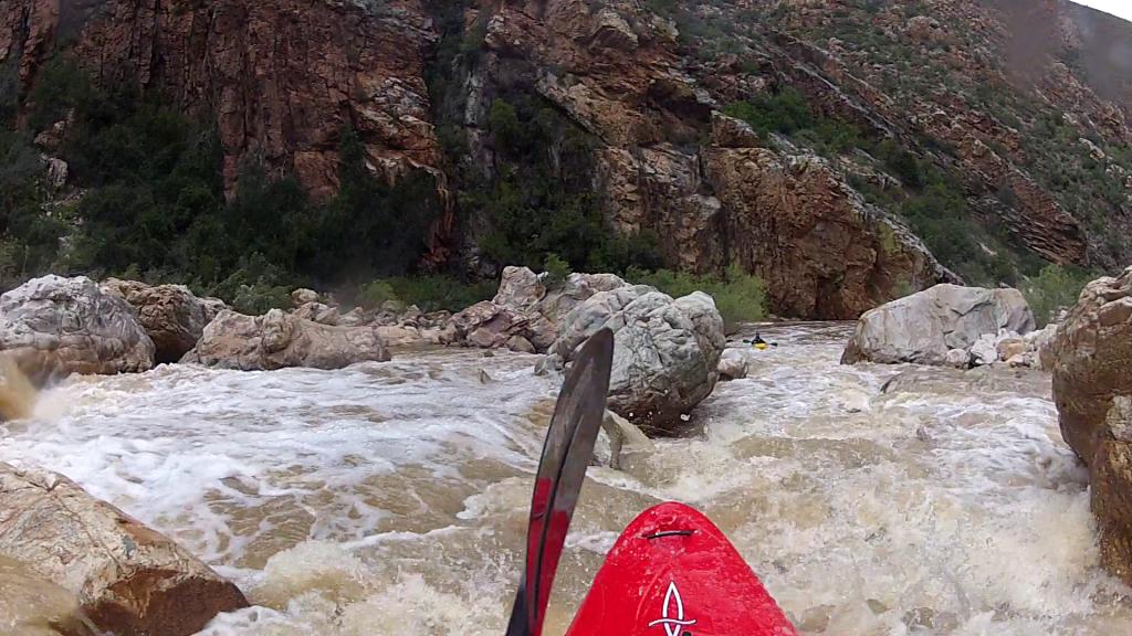 Meiringspoort rapids